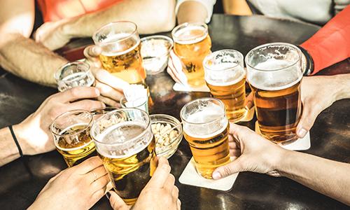 CityGames JGA Männer Tour: Special Biergrüßung